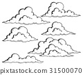 Clouds drawings theme image 1 31500070