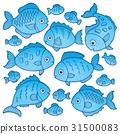 fish drawing drawings 31500083