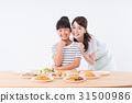 飲食教育 母子 吃 31500986