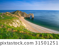 Durdle Door at the beach on the Jurassic Coast, UK 31501251