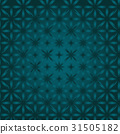 Colored Delicate Seamless Flower Pattern in 31505182