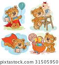 bear, vector, illustration 31505950