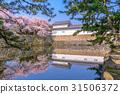 Hikone Castle in Spring 31506372