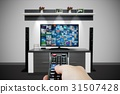 Television broadcast multimedia composition 31507428