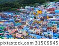 한국 부산의 甘川洞 문화 마을 31509945