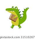 crocodile, character, cartoon 31510267