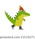 鱷魚 溜冰 滑板 31510271