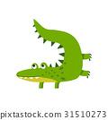 crocodile, cartoon, vector 31510273