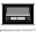 radio old retro vintage icon stock vector  31510277