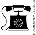 phone old retro vintage icon stock vector  31510296