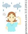 下雨 雨 多雨 31510411