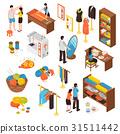 Atelier Studio Isometric Icons Set  31511442