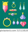 vector jewelry gold 31513818