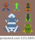 矢量 矢量图 青蛙 31513845