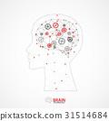 background, brain, concept 31514684