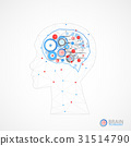 abstract, background, brain 31514790