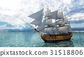 一艘帆船 31518806