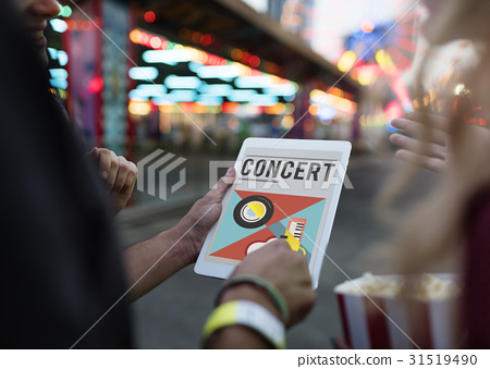Digital music is a mobility entertainment. 31519490