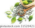 Herb pills with fresh bitter gourd , 31520421