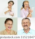 collage, portrait, retirement 31521647
