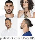 collage diverse expression 31522385