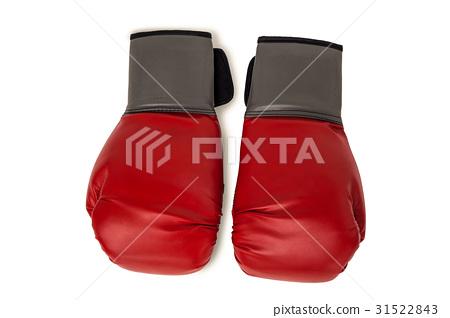 Boxing gloves on white background 31522843