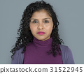 Lady Posing Studio Neutral Focused 31522945