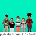 children phone playing 31523640