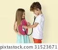 Little Children Heart Stethoscope Doctor 31523671