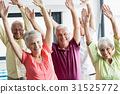 Seniors doing exercises 31525772