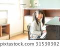 초등학교 교실, 소녀, 피아노 31530302