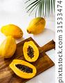 番木瓜 水果 夏天 31533474