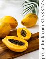 番木瓜 木瓜 水果 31533475