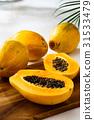 番木瓜 水果 夏天 31533479