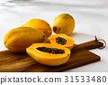 番木瓜 水果 夏天 31533480