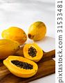 番木瓜 水果 夏天 31533481
