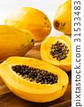 番木瓜 木瓜 水果 31533483