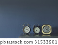 alarm clock in the room  for background 31533901