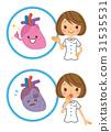 심장, 간호사, 장기 31535531