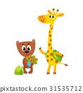 animal student character 31535712
