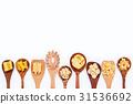 Italian foods concept and menu design.  31536692