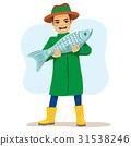 Fisherman Big Fish 31538246