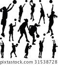 basketball woman player 31538728