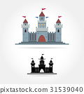 Castle vector icon 31539040