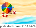 sand, background, vector 31543426