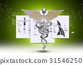caduceus medical symbol 31546250
