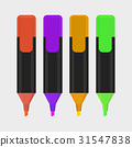 highlighter pen isolated icon vector illustration 31547838