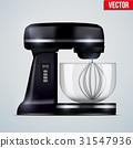 Black Stand Mixer 31547936