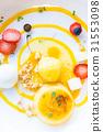 Mango passion fruit tart 31553098