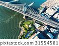Manhattan Bridge over the East River in New York 31554581